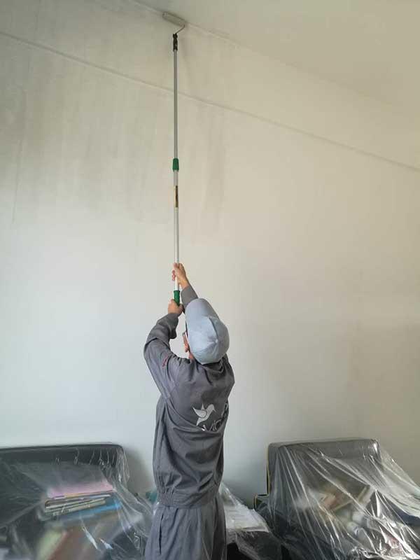 西安铁路职业技术学院墙面施工