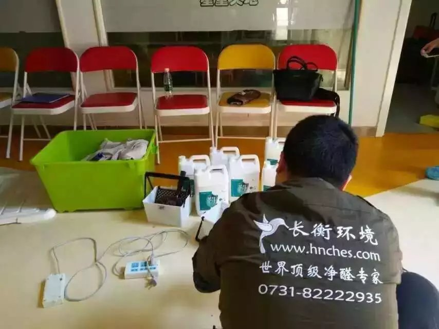 湖南星童天地文化艺术中心椅子施工
