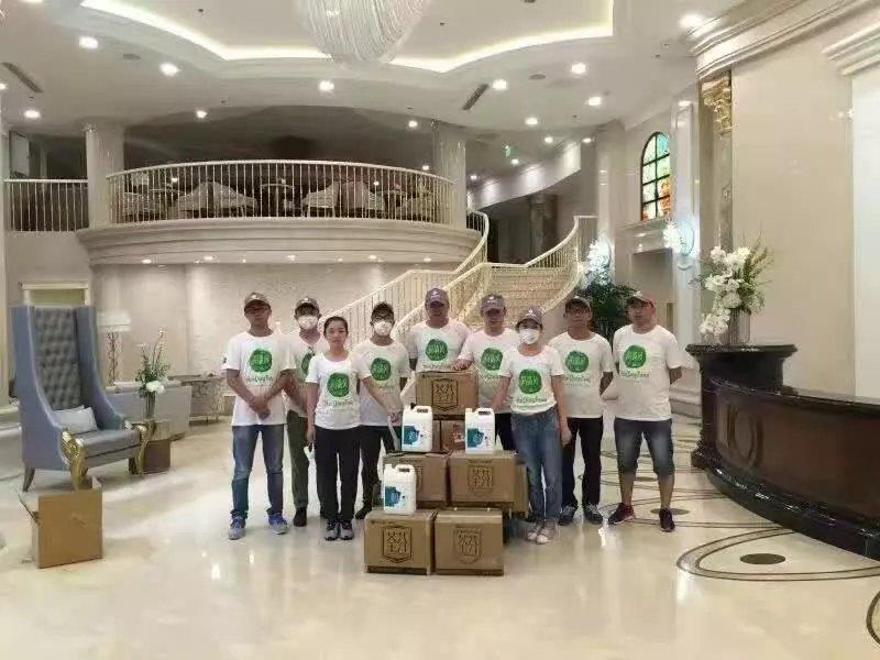 北京玲珑梵宫医疗美容医院施工人员